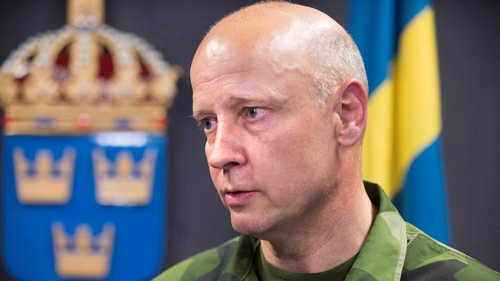 Generalmajor Karl Engelbrektson.