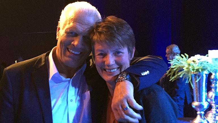 Frank Andersson och Lena Videkull tog igår hem priset som århundradets idrottare.
