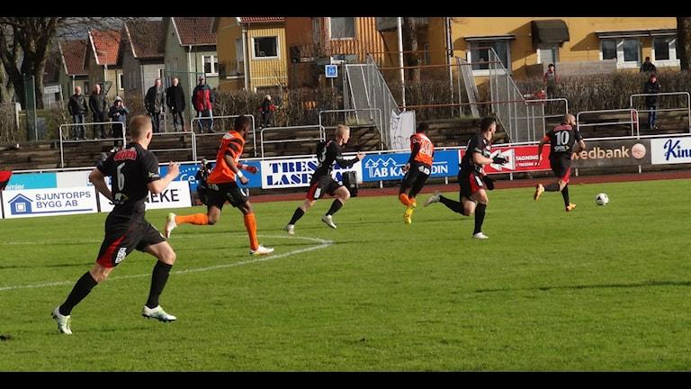 Fotboll FC Trollhättan-Kristianstad
