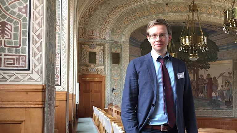 Massmedieforskaren Jonas Olsson.