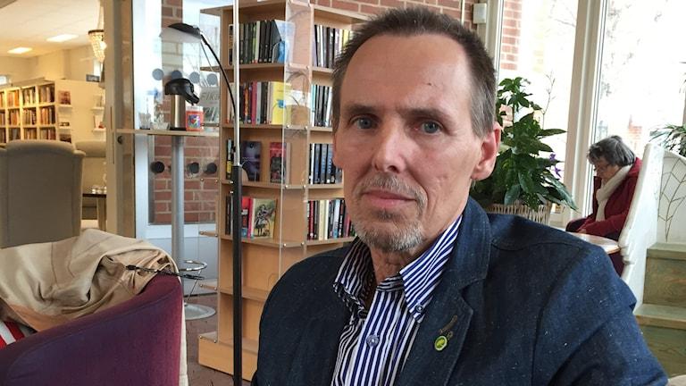 Hans Joachim Isenhem, lokalpolitiker för miljöpartiet i Munkedal.
