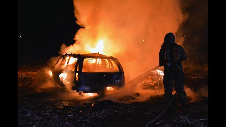 Bilbrand i Stenungsund