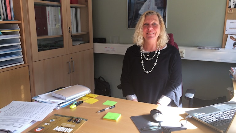 Marie-Louise Coon är rektor Lichron teknikgymnasium som lägger ned på grund av för få sökande.