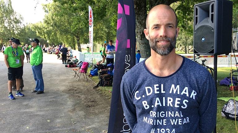 Fotbollstränaren Matti Demegård.