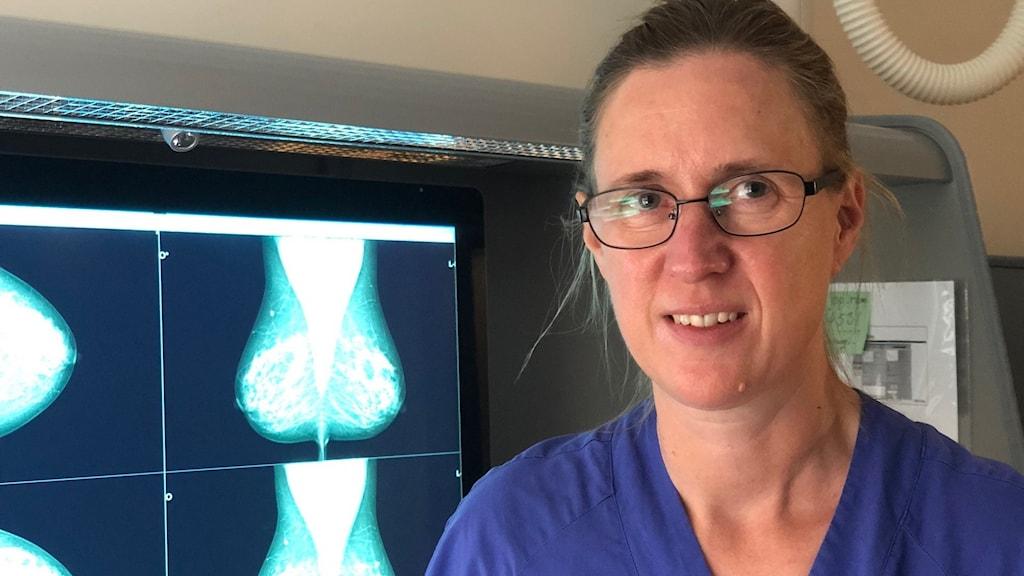 Maria Edegran överläkare på NU-sjukvården.
