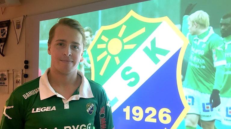 Robin Strömberg är ny spelare i Ljungskile SK