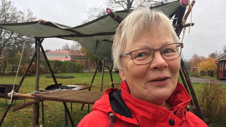 Margit Ilbratt i Bäckefors.