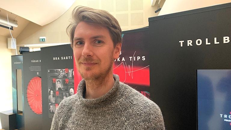 Petter Öhnell enhetschef Vitlycke museum.