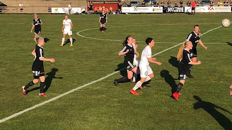 Match mellan Lödöse/Nygård och Skoftebyn