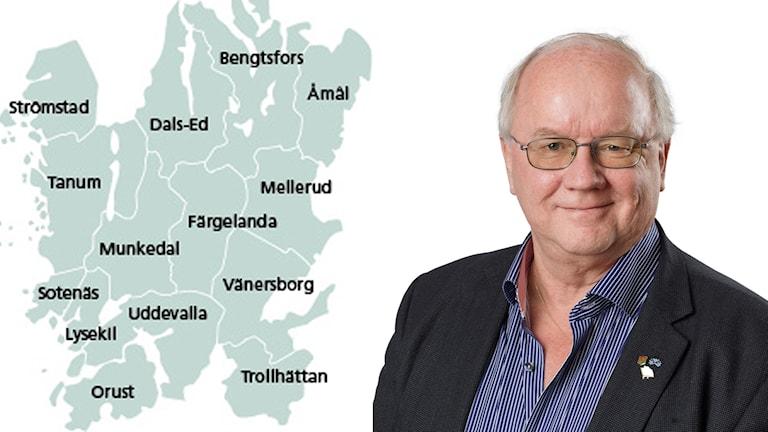 Norra sjukvårdsnämndens ordförande Ulrik Hammar (L)
