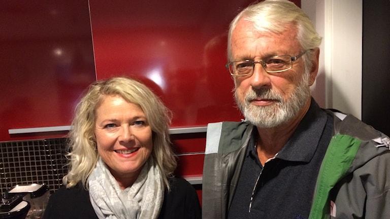 Hanne B Hjelmgård och Stein Rukin