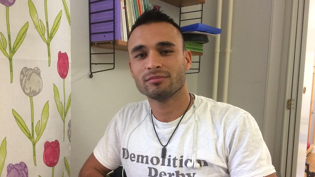 Ramish Heydari från Afghanistan har fått nytt hopp om att stanna i Sverige.