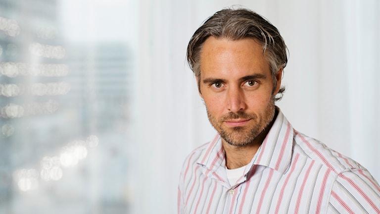 Anders Wallensten, epidemiolog vid Folkhälsomyndigheten