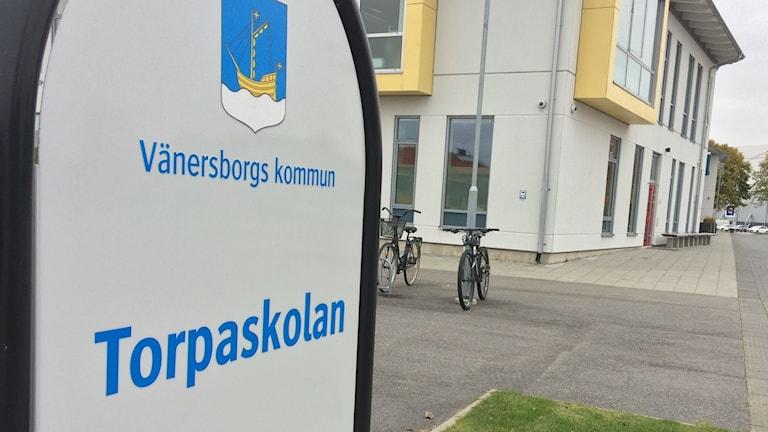 Bild på Torpaskolan i Vänersborg