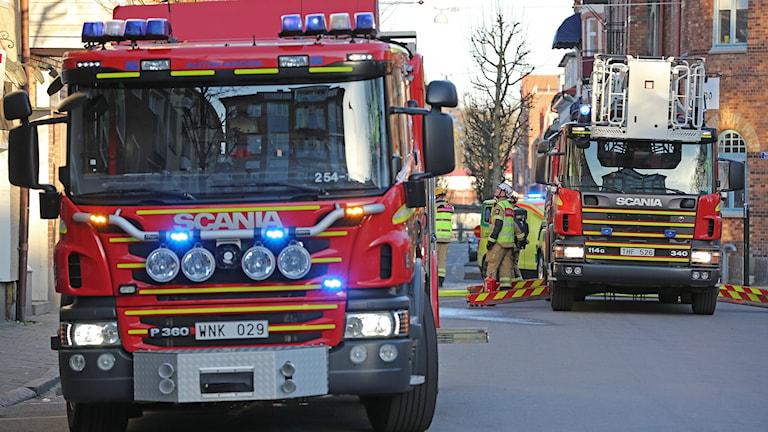 Räddningstjänsten fick rycka ut på påskaftons morgon.
