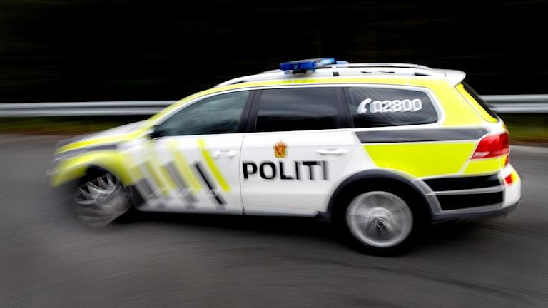 Norsk polisbil