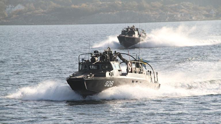 Bevakningsbåtkompaniet övning.