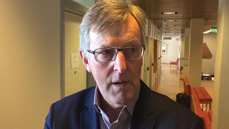 Jan Åke Jonsson på Vänersborgs tingsrätt. Foto: Marie Mattsson/Sveriges Radio