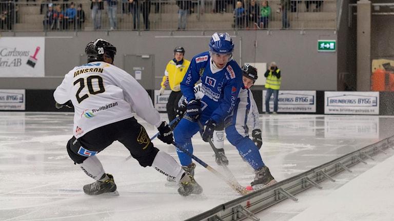 Bandy Vänersborg-Gripen Mattias Jansson  Oktober -16