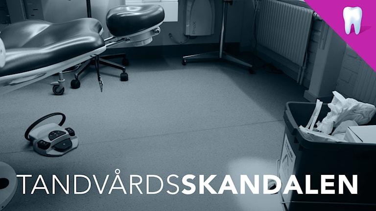 En tom tandläkarstol. Foto: Liv Widell/Sveriges Radio