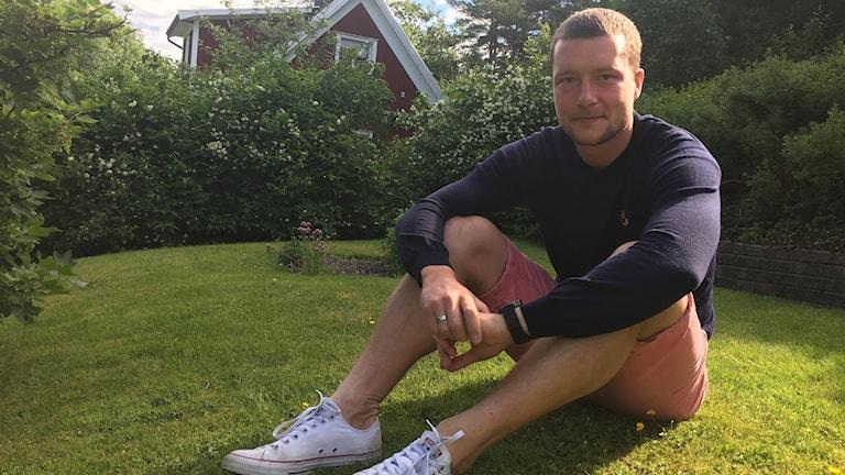 Jakob Johansson hemma i Trollhättan