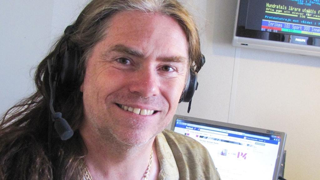 Magnus Rosén är före detta medlem i hårdrocksbandet Hammerfall.