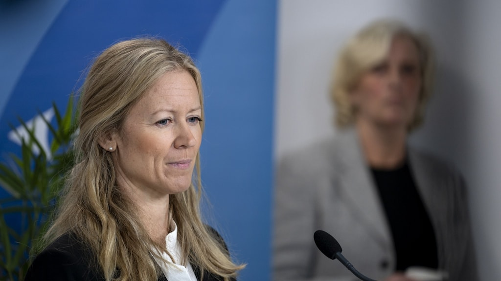 Kristine Rygge på en pressträff