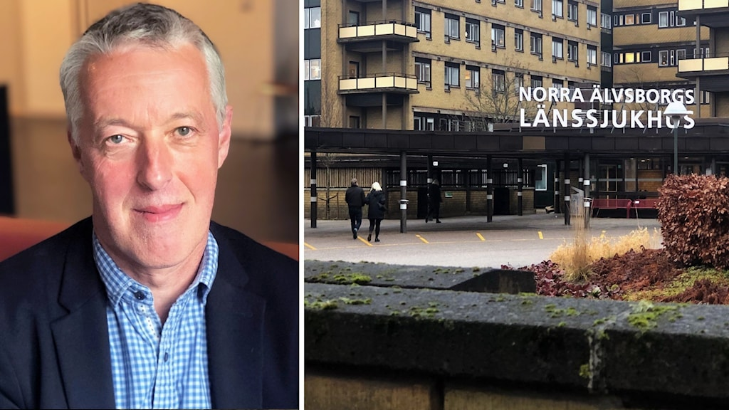 Björn Järbur, sjukhusdirektör och bild på Näl