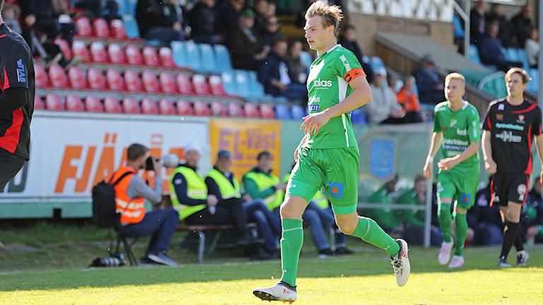 Matchbild från Ljungskile SK mot FC Trollhättan 11 maj 2019