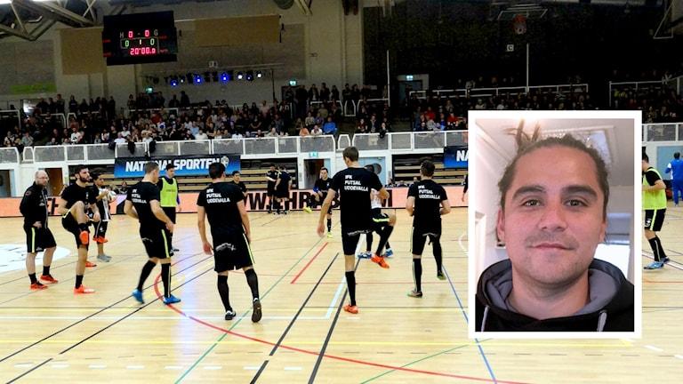 Futsal FK Uddevalla uppvärmning