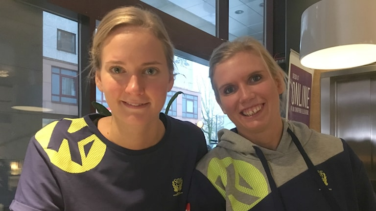 Johanna Bundsen och Jenny Alm