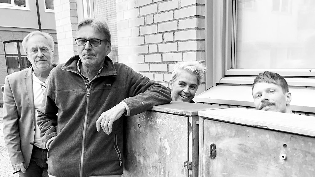 Peter Sundblad, Benny Andersson, Therese Mc Donald och Jimmie Schewenius