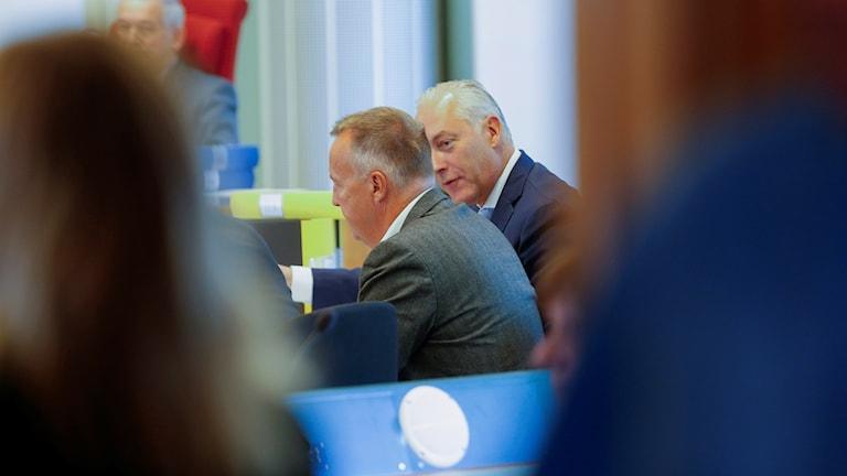 Mats Höggren i rättegång