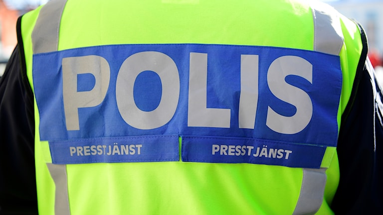 en polisväst