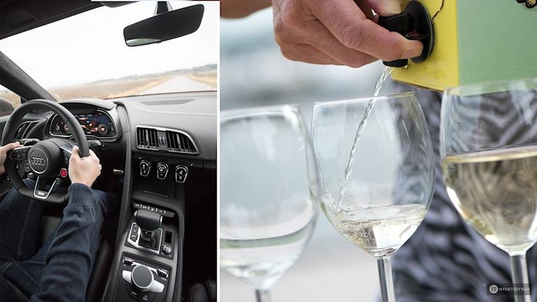 bil och alkohol