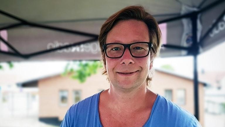 Fredrik Sjögren, P4 Västs statsvetare