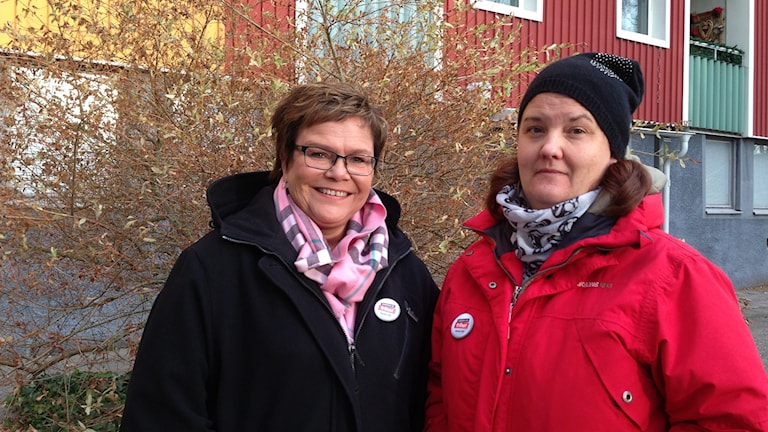 Sari Samuelsson, FUB Trollhättan och Hanna LorentzonHanna Lorentzon, RBU Älvsborg