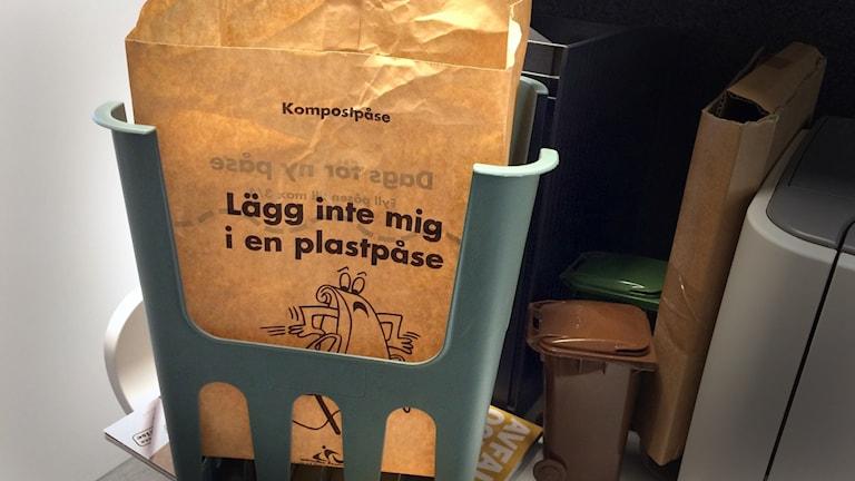 komposteringspåse
