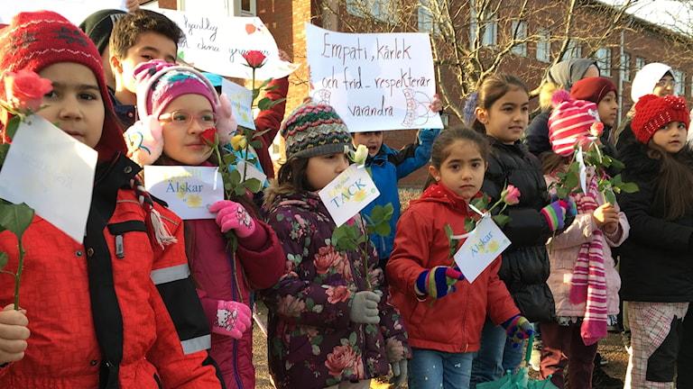 Barn från Sanabilsskolan