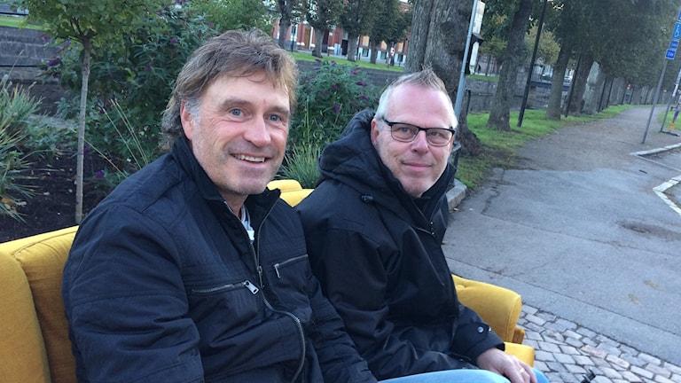 Bild på Kenny Samuelsson och Kjetil Granli i Streaplers.