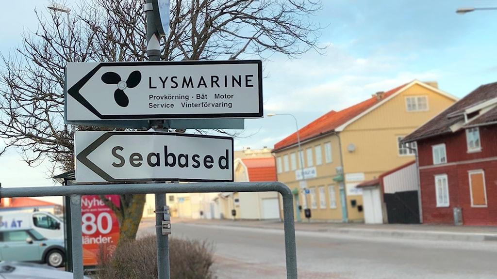 Vågkraftstillverkaren Seabaseds i Lysekil.