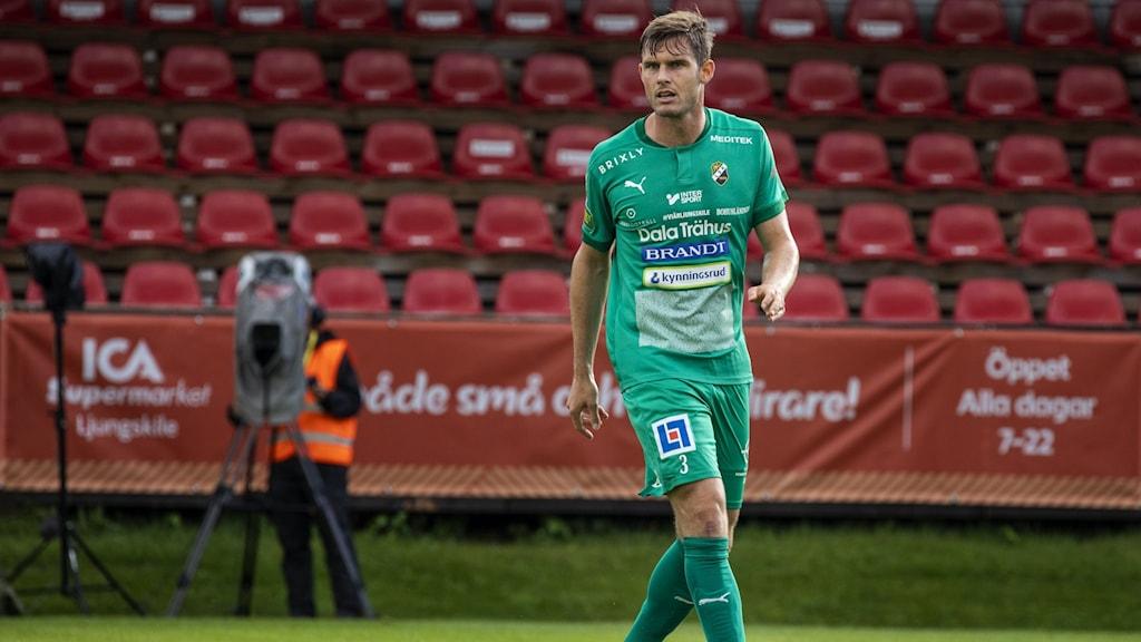 Ljungskile SK-försvaren Adam Rosén