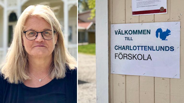 Lina Magnusson som är chef på barn och utbildningsförvaltningen i Tanums kommun.
