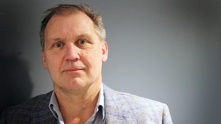 Lars Ahngnell, verksamhetschef BUP NU-sjukvården. Foto: Julia Forsberg/Sveriges Radio