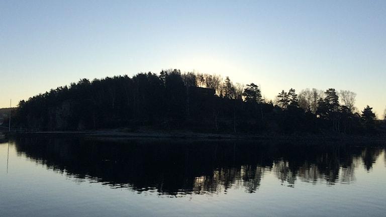 Bild på Ulvön.