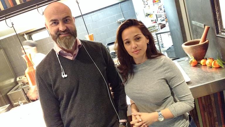Hotellchef Jeny Meira och restaurangchef Peter Cedergreen från Uddevalla har jobbet i branschen i flera år.