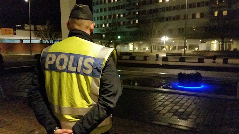 Johannes Smedbo, polisens insatschef på Kronogården