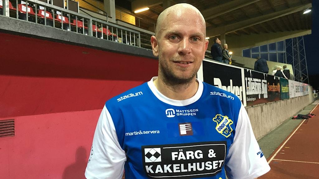 Fotboll, Johan Patriksson i Oddevold