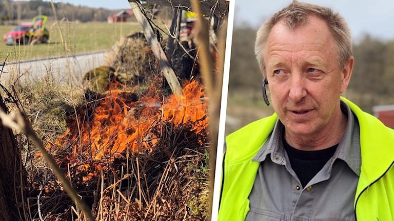Håkan Christensson, lantbrukare och ordförande på LRF i Sotenäs.