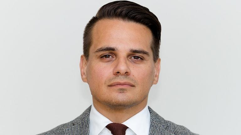 Mario Varguez, enhetschef i Mellerud
